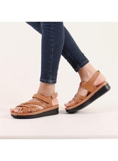 Hammer Jack 12 Kadın Terlik / Sandalet 164 504-Z Taba